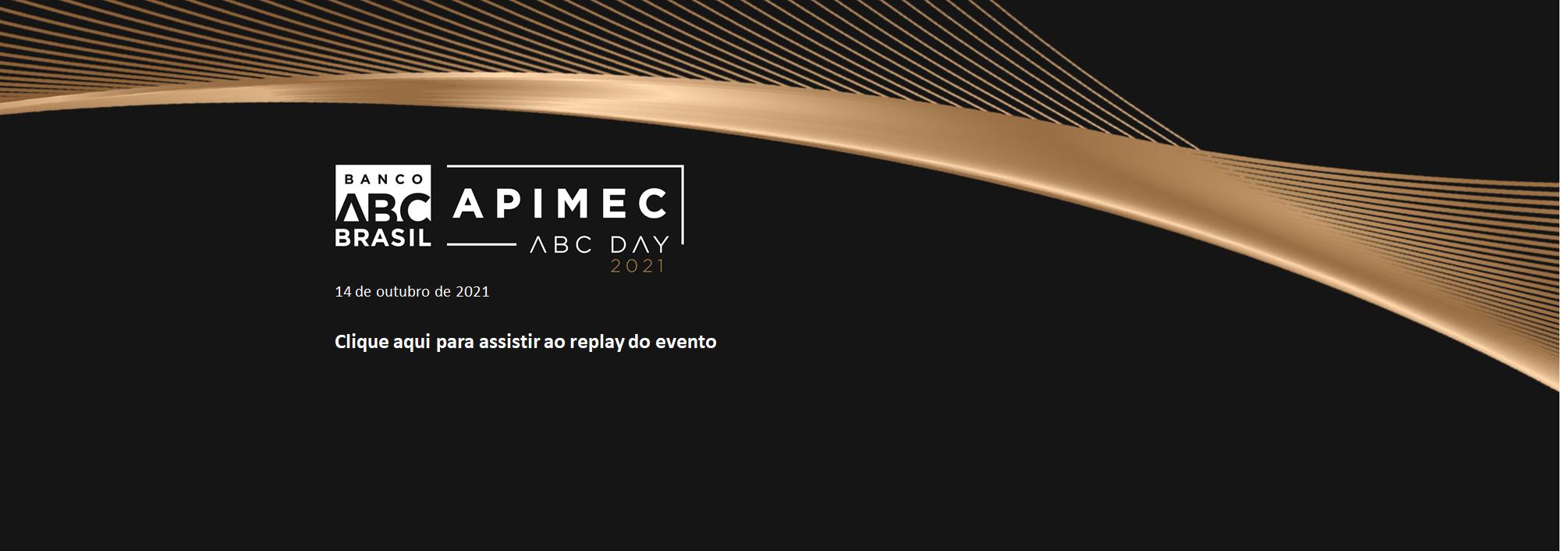 Banner APIMEC ABC Day 2021